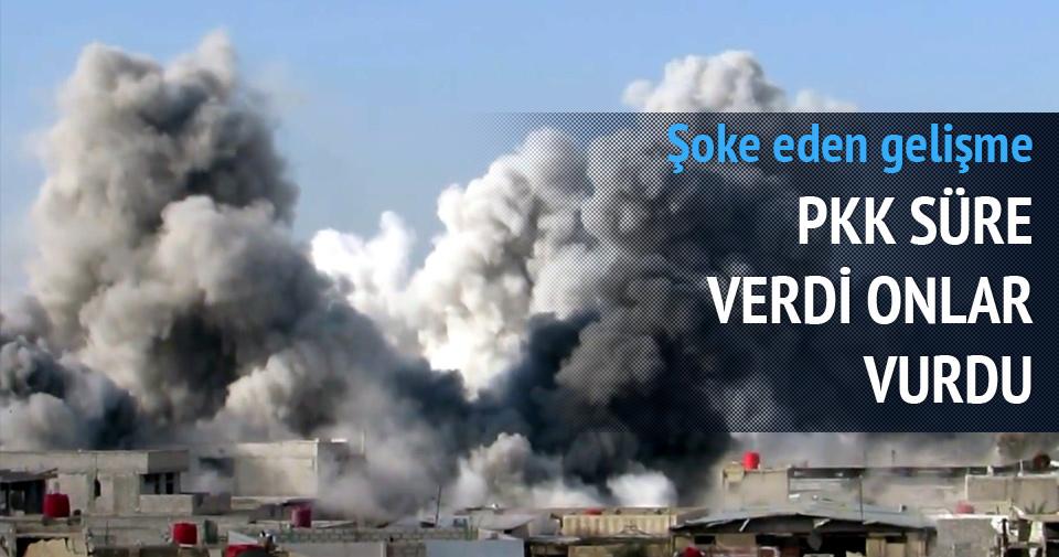 PKK süre verdi, onlar bombaladı