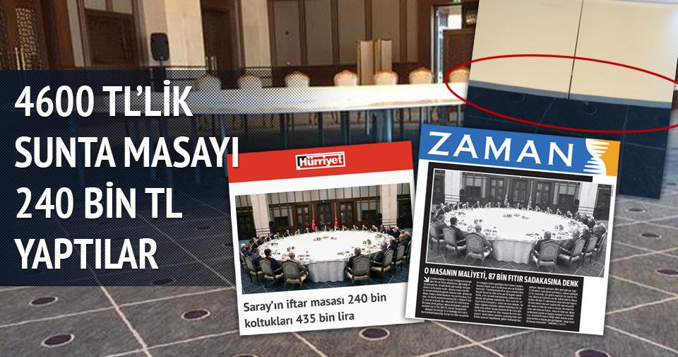 Cumhurbaşkanlığı'ndan Hürriyet'e yalanlama