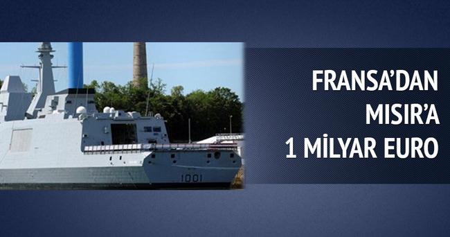 Fransa'dan Mısır'a 1 milyar euroluk fırkateyn