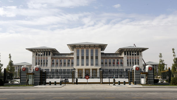 Cumhurbaşkanlığı Sarayı'nda Bakanlar Kurulu'na iftar