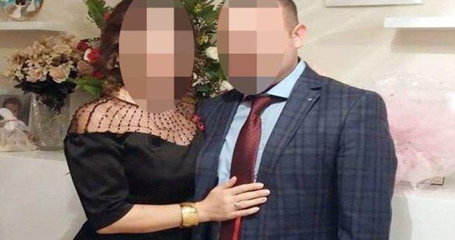 Evlendikten 8 gün sonra tutuklandı