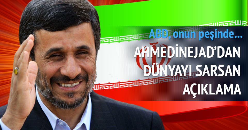 Ahmedinejad: ABD Hz. Mehdi'yi yakalamaya çalışıyor