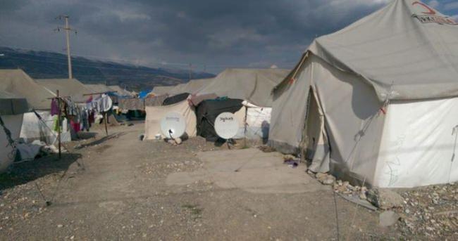 Çadırkentte yangın: 2 çocuk öldü