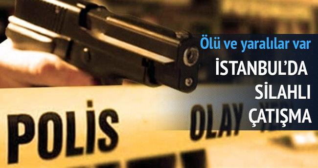 İstanbul'da çatışma: 1 ölü, 3 yaralı