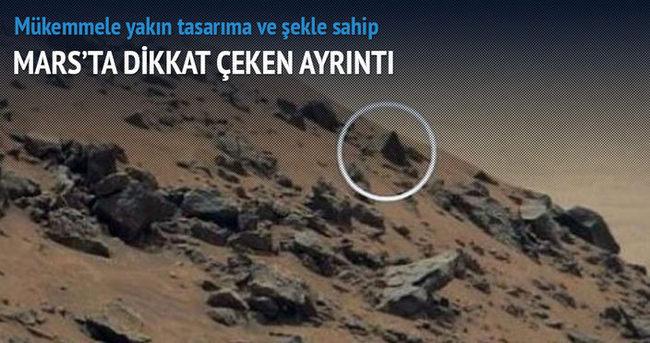 Mars'ta dikkat çeken ayrıntı