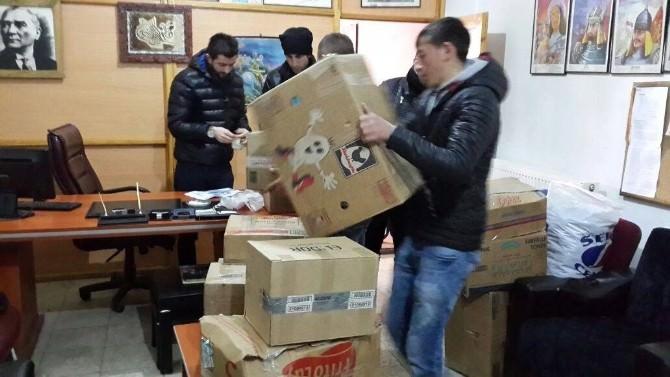 Ardahan'dan Suriyeli Sığınmacılara Yardım