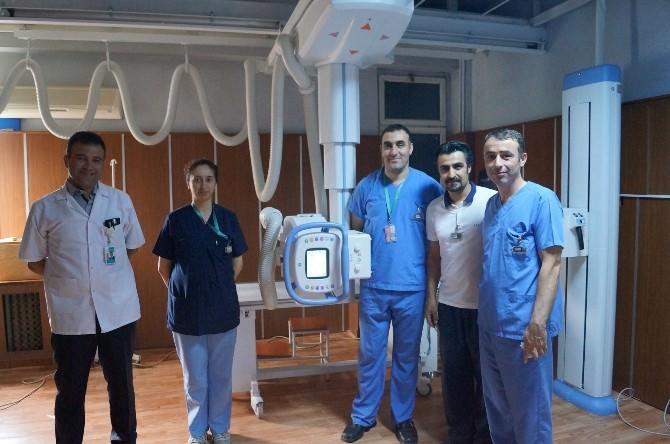 Biga Devlet Hastanesinde Dijital Radyolojik Görüntüleme Cihazı
