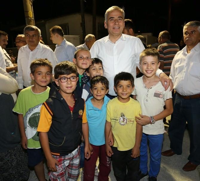 Başkan Zolan, Sevindik'te Vatandaşlarla İftar Yaptı