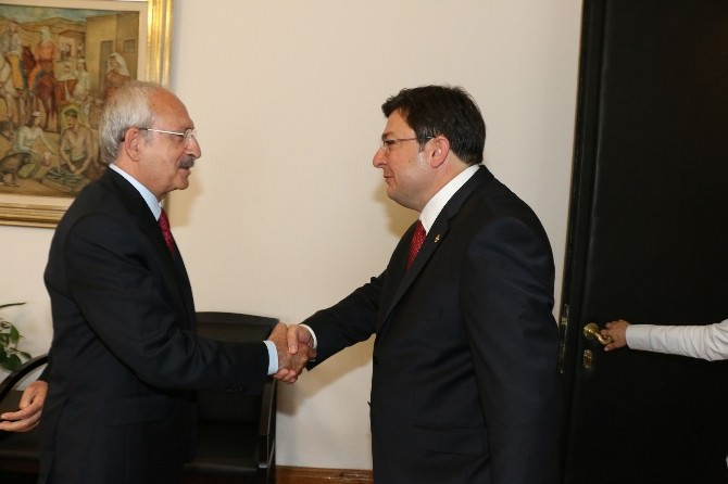 Erkek'ten Kılıçdaroğlu'na Teşekkür