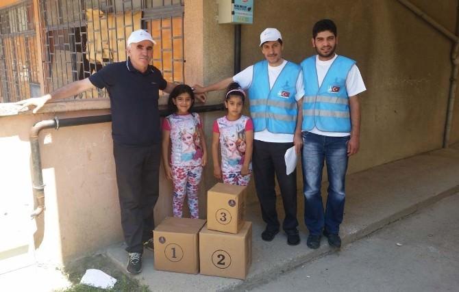 Darıca Belediyesi'nden Suriyeli Ailelere Yardım