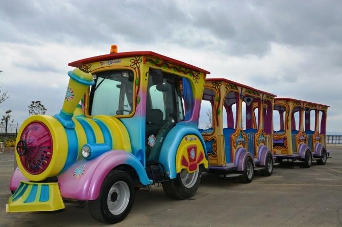 Süleymanpaşa Belediye Başkanı Eşkinat'tan Çocuklara Tren Sürprizi
