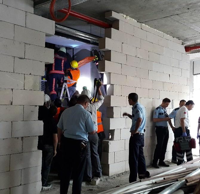 Kağıthane'de Asansör Faciası: 1 Ölü