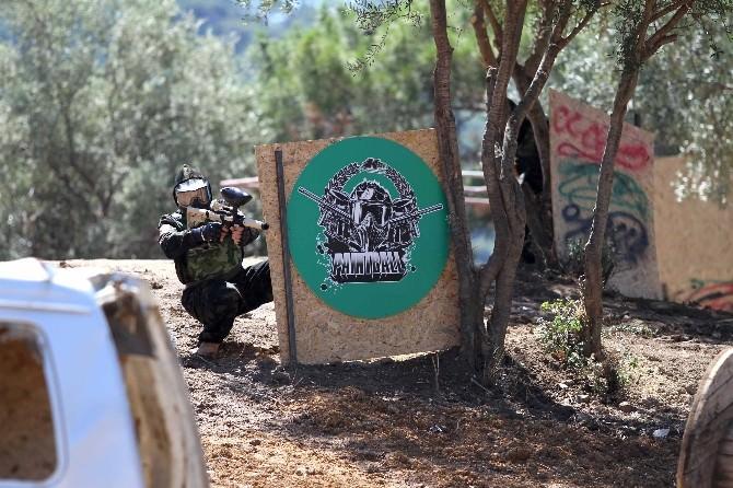 Karşıyaka'da Paintball Heyecanı Başladı