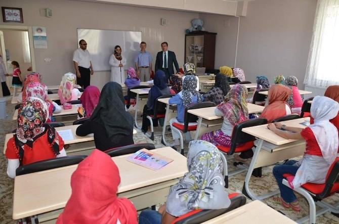 Nevşehir'de Yaz Kur'an Kursları Başladı