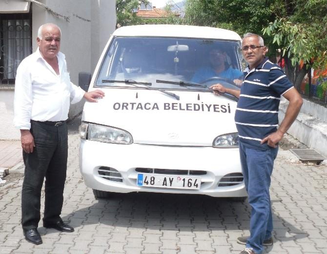 Ortacalı İş Adamından Belediyeye Araç Desteği