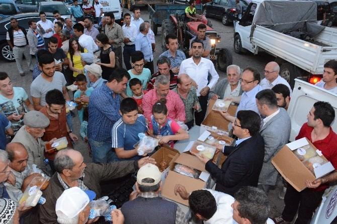Şehzadeler'in İftar Sofrası Sancaklıbozköy'de Kuruldu