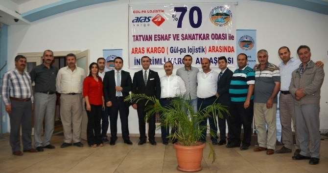 Tatvan'daki Esnaflara Kargo İndirimi