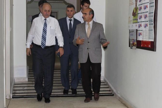 Bartın Valisi Azizoğlu Sağlık Kurumlarını Denetledi