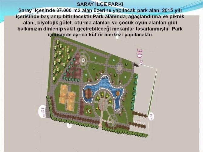 Büyükşehir Belediyesi, Yapımına Başladığı Parklarla Kente Nefes Aldıracak
