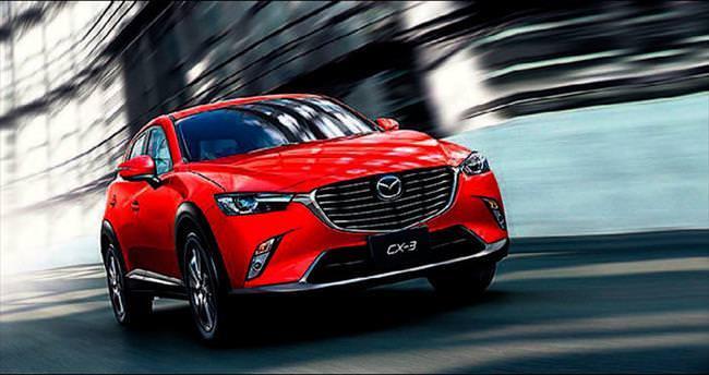 Mazda'nın yeni SUV modeli CX-3 iddialı