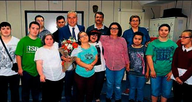 Başkan Zolan, özel çocuklarla buluştu