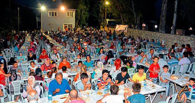 Eski beldelerde iftar programı