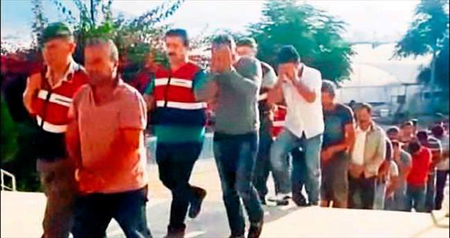 İnsan kaçakçılığı zanlısı 6 kişi cezaevini boyladı