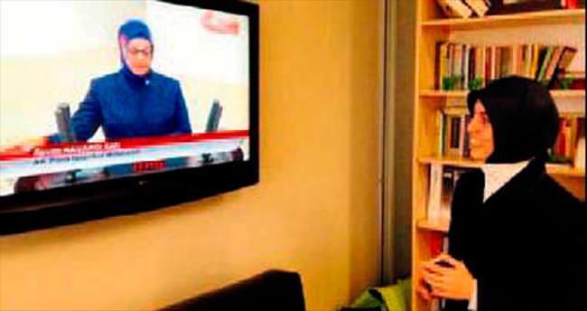 Yemini TV'den böyle izledi
