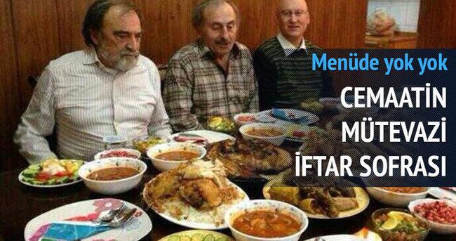 Erkam Tufan Aytav'ın zengin iftar sofrası