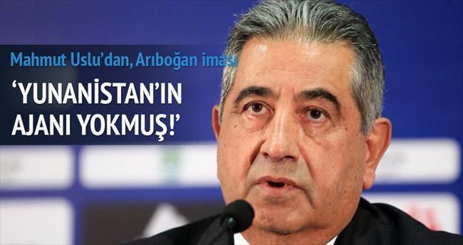 Yunanistan'ın ajanı yokmuş!