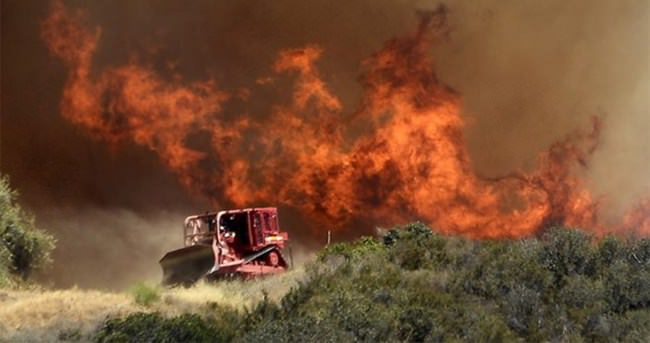 Kaliforniya'da yangın