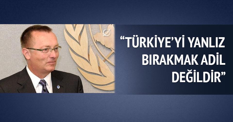 ''Türkiye'yi yalnız bırakmak adil değil''