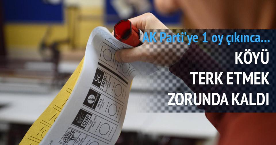 AK Parti'ye 1 oy çıkan köyde PKK'dan ölüm tehdidi