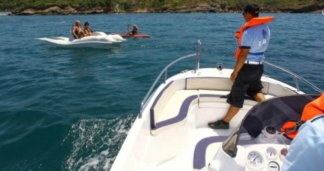 Türkiye'de bir ilk! Deniz zabıtası görevde