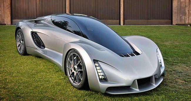 3D yazıcıyla üretilen ilk süper otomobil