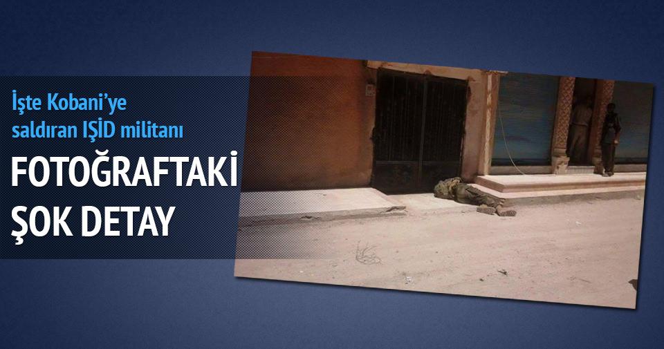 İşte Kobani'ye saldıran IŞİD militanı