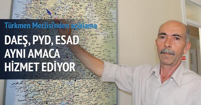 'DAEŞ PYD ve Esed rejimi aynı amaca hizmet ediyor'
