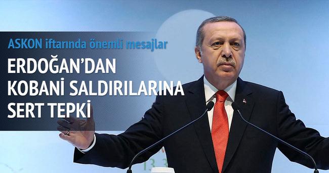 Erdoğan: Kobani'deki saldırıları en şiddetli şekilde kınıyoruz