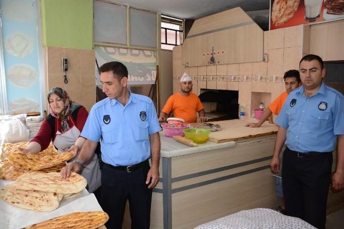 Aksaray'da Ekmek Ve Pide Fırınları Denetledi