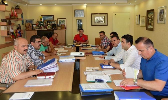 Alanya Belediyesi'nde Haftalık Encümen Toplantısı Yapıldı