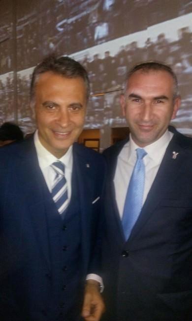 Başkan Beşer Beşiktaş Jimnastik Kulübünün İftarına Katıldı
