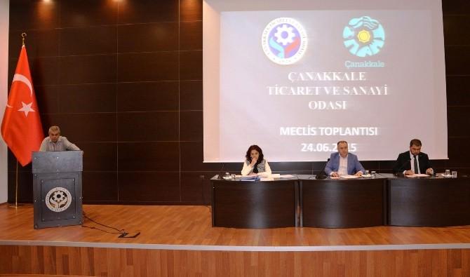ÇTSO Haziran Ayı Olağan Meclis Toplantısı Yapıldı