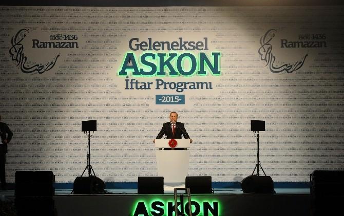 Cumhurbaşkanı Erdoğan, ASKON'un İftarına Katıldı