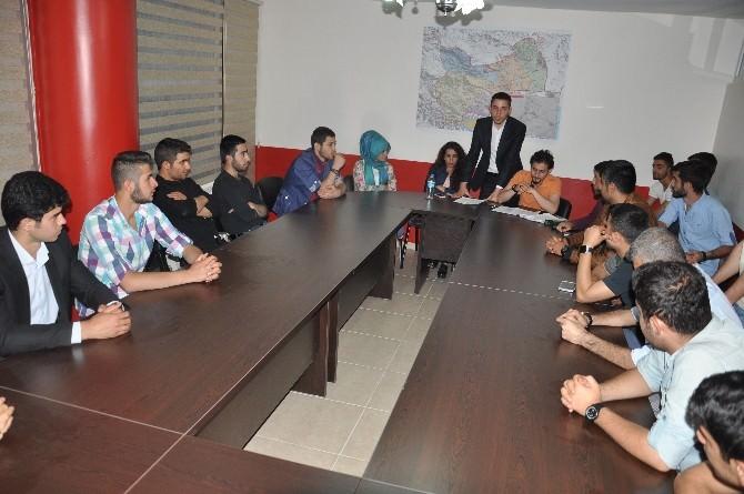 Muş'ta Türkiye Gençlik Hareketi Derneği'nin Şubesi Açıldı