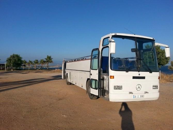 Didim'de Turistik Amaçlı Üstü Açık Otobüs Tasarlandı
