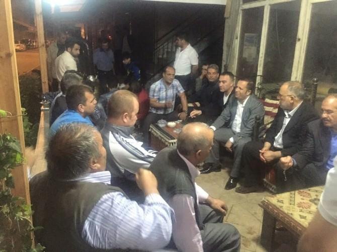 Başkan Toltar İftar Sonrası Halkla Birlikte