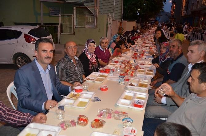 Gemlik Belediyesi'nin İlk İftarı Osmaniye Mahallesinde