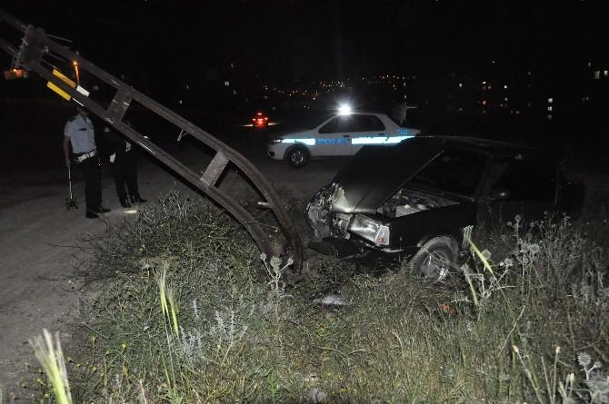Bozüyük'te Trafik Kazası, 1 Yaralı