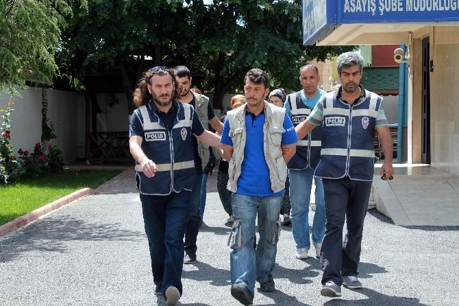 Konya'da Şantajcı Ve Gaspçı Karı Kocalar Tutuklandı