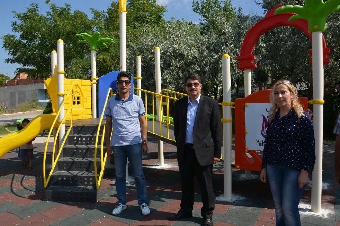Başkan Çelik Çocuk Parklarındaki Çalışmaları İnceledi